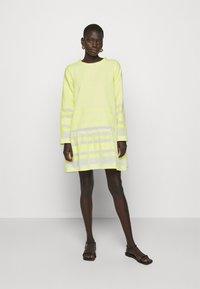 CECILIE copenhagen - DRESS - Day dress - avocado green - 0