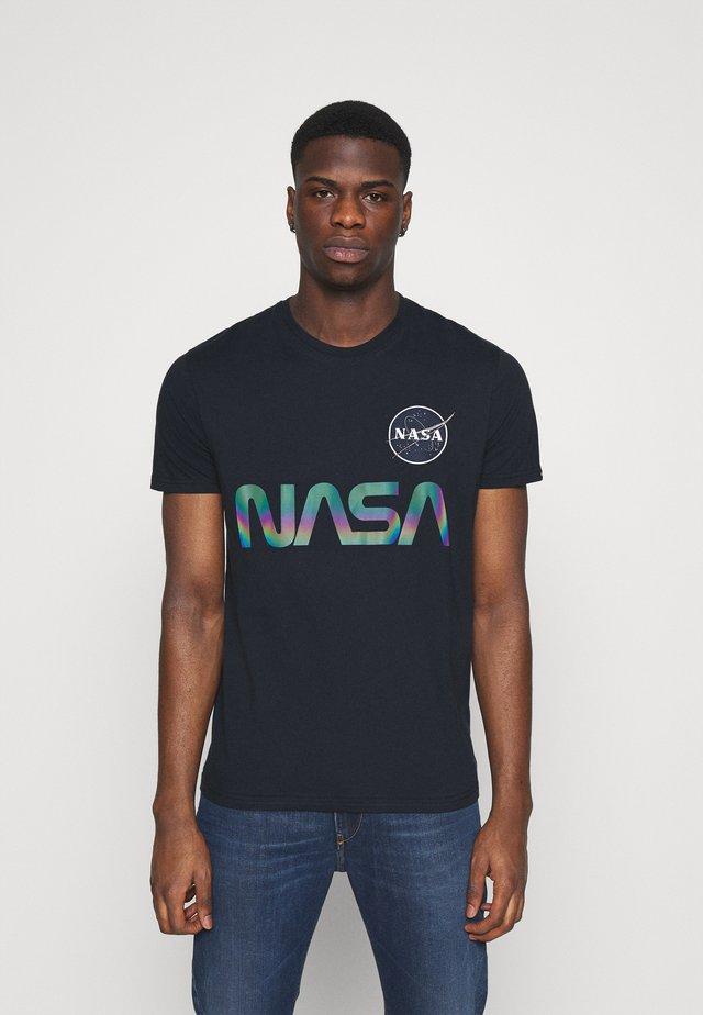 NASA RAINBOW  - Print T-shirt - dark blue