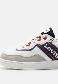 Levi's® - IRVING  - Trainers - white/navy - 5