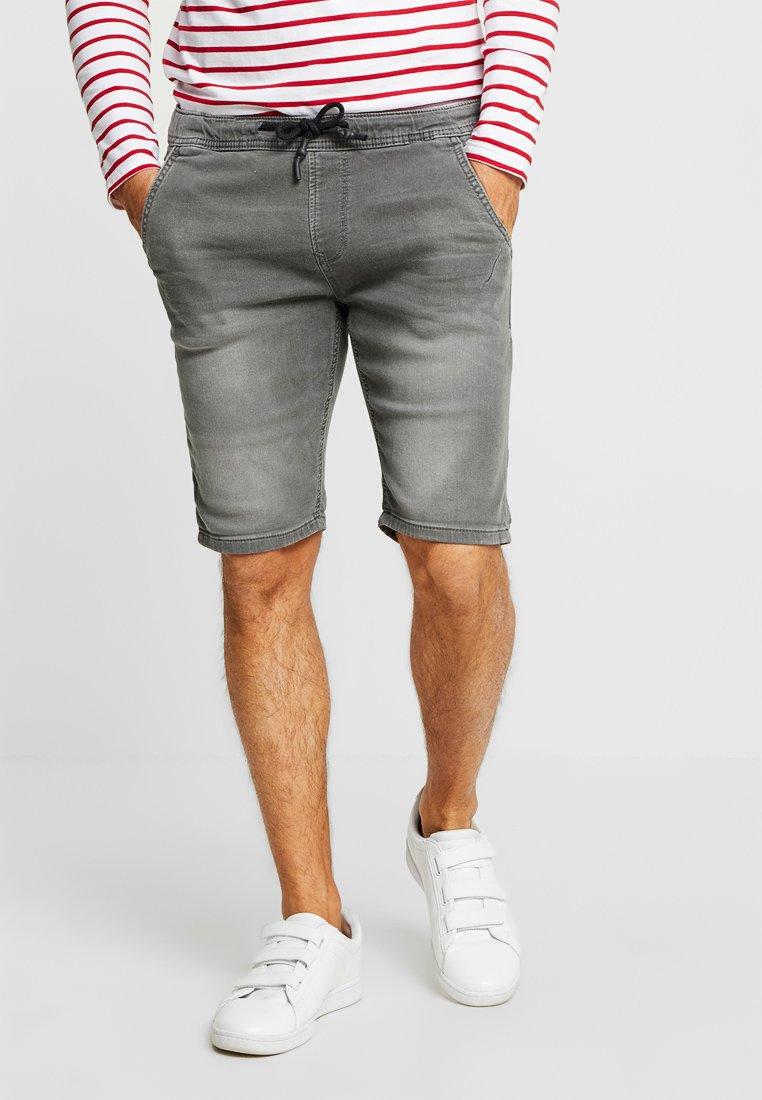 TOM TAILOR DENIM - Szorty jeansowe - clean bleached grey denim