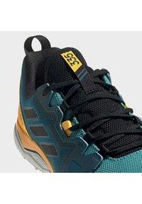 adidas Performance - TERREX AGRAVIC TRAIL RUNNING SHOES - Obuwie do biegania Szlak - turquoise - 7