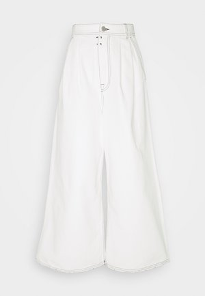 Džíny Relaxed Fit - off white