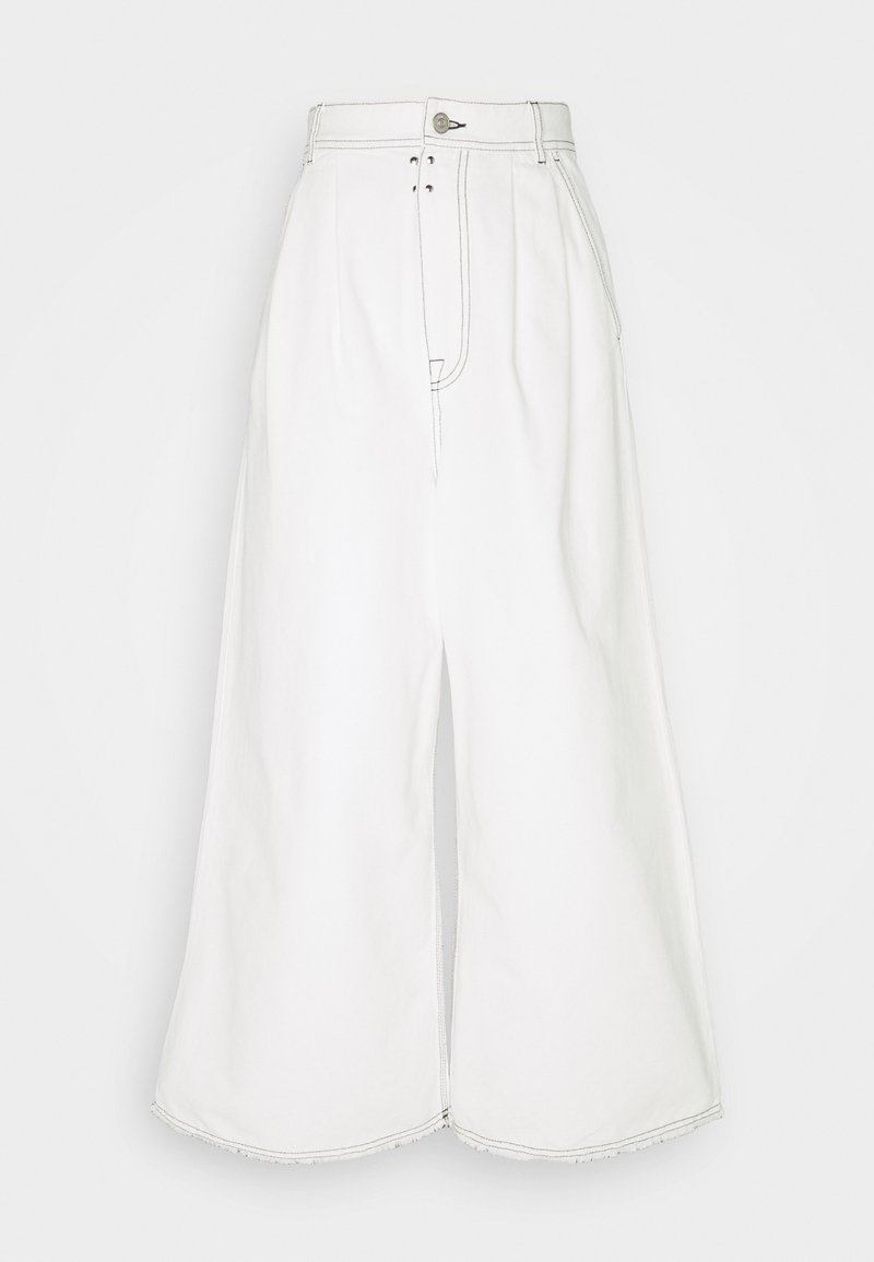 MM6 Maison Margiela - Džíny Relaxed Fit - off white