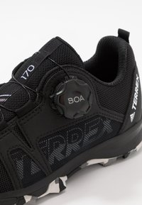 adidas Performance - TERREX AGRAVIC BOA - Hiking shoes - core black/footwear white/grey three - 5