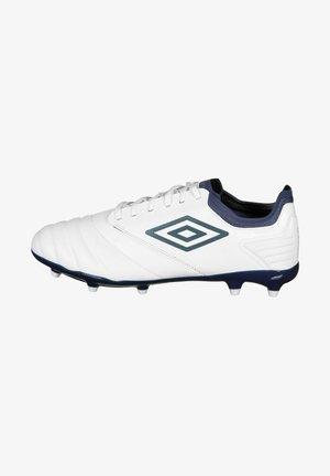TOCCO PREMIER  - Moulded stud football boots - white  goblin blue  sargossa sea