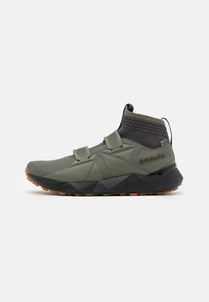 FACET45 OUTDRY - Trekingové boty - stone green/autumn orange