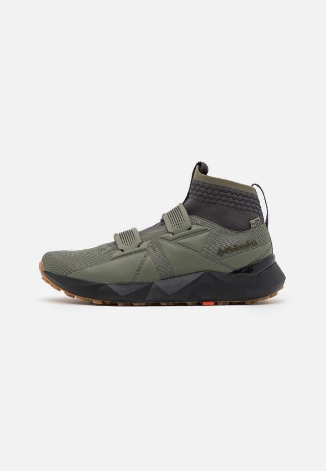 FACET45 OUTDRY - Chaussures de marche - stone green/autumn orange