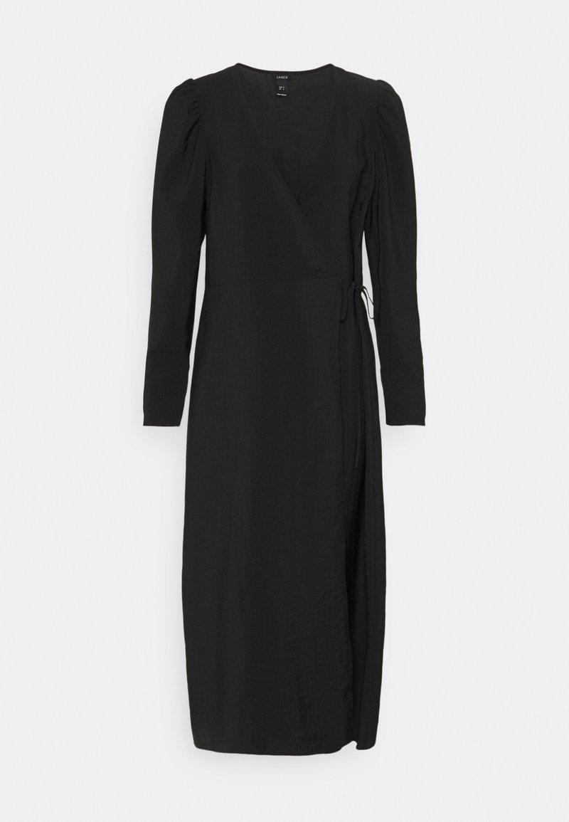 Lindex - DRESS MARJORIE SOLID - Day dress - black