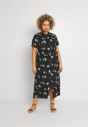 VMSIMPLY EASY LONG - Skjortklänning - black