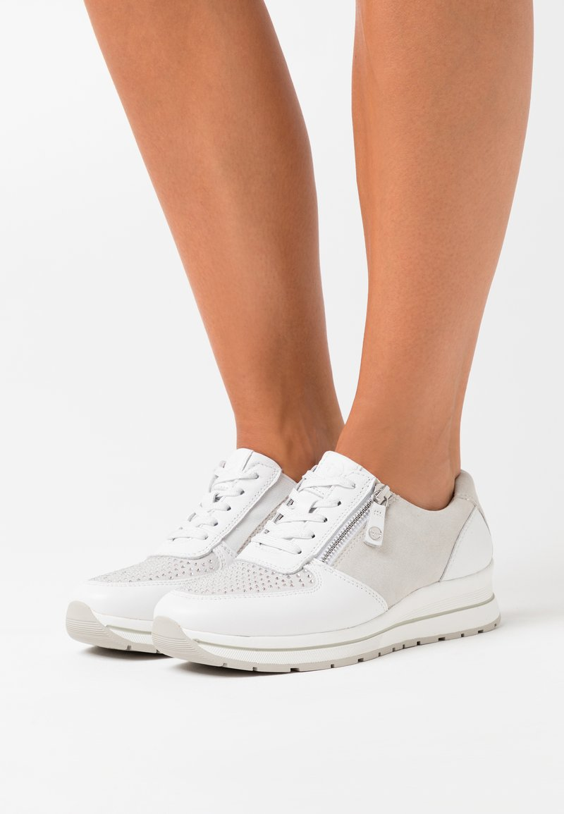Tamaris Pure Relax - LACE UP - Trainers - white