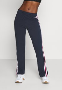 Champion - STRAIGHT HEM PANTS LEGACY - Verryttelyhousut - dark blue - 0