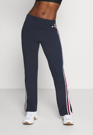 STRAIGHT HEM PANTS LEGACY - Tracksuit bottoms - dark blue