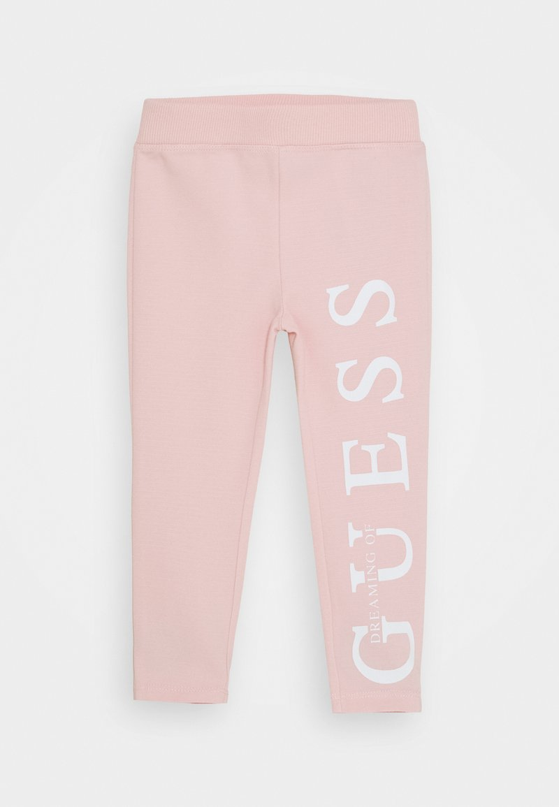 Guess - TODDLER PUNTO MILANO ICON - Legíny - pink sky