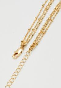 Pieces - PCLIZZA COMBI NECKLACE - Necklace - gold-coloured - 1