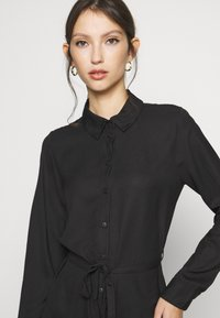 ONLY - ONLEVERLY LONG  - Button-down blouse - black - 4