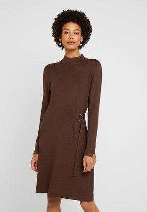 Jumper dress - marsala