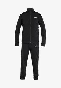 adidas Performance - ESSENTIALS SPORT TRACKSUIT - Tracksuit - black/black - 7
