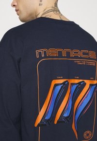 Mennace - UNISEX  - Long sleeved top - navy - 4