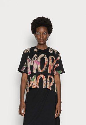 CAMELIA - Print T-shirt - black