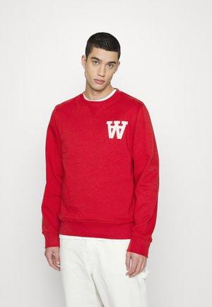 TYE - Sweatshirt - dusty red