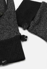 Nike Performance - MEN'S HYPERSTORM KNIT GLOVES - Guantes - smoke grey/black/black - 2