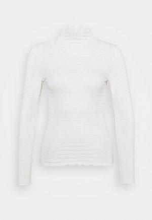 BYSALONA - Top sdlouhým rukávem - off white