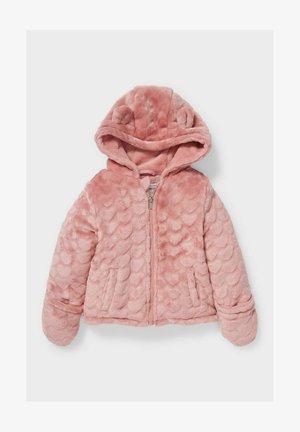 Fleece jacket - rose