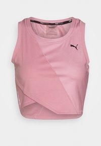 Puma - STUDIO CROP - Sports shirt - foxglove - 0