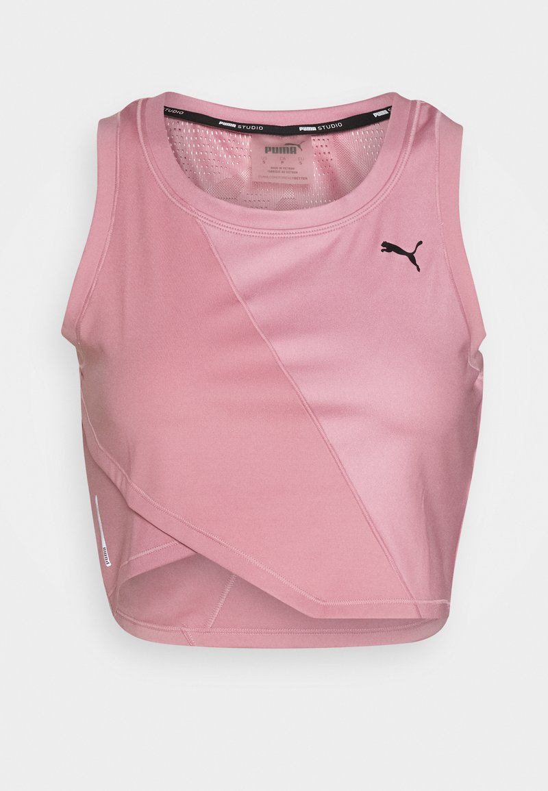 Puma - STUDIO CROP - Sports shirt - foxglove