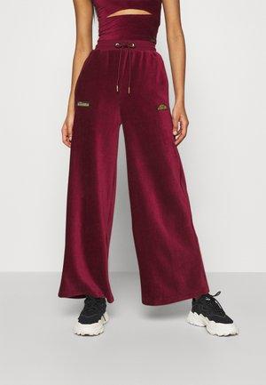 VALERIE - Trousers - burgundy