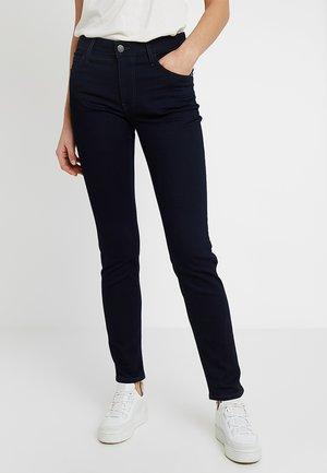 REBECCA - Slim fit jeans - dark-blue denim