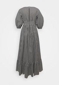 kate spade new york - MINI GINGHAM BODEGA DRSS - Maxi dress - black - 1