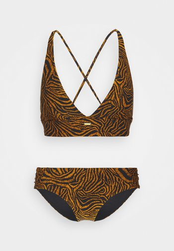 SET - Bikini - black/brown