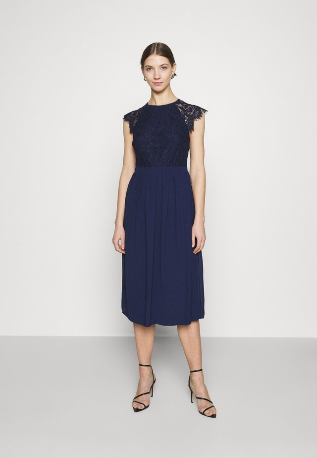 YUINN MIDI DRESS - Vestito elegante - navy