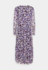 Soaked in Luxury - Day dress - dazzling blue flower - 1