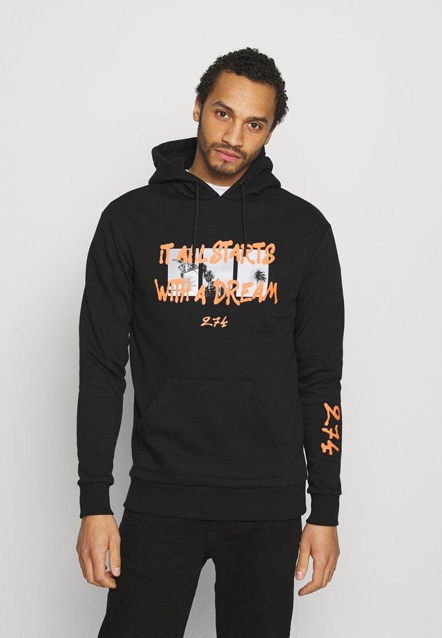 DREAM HOODIE - Sweatshirt - black