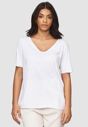 NIVIA - Basic T-shirt - white