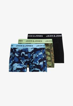 3ER PACK - Pants - black