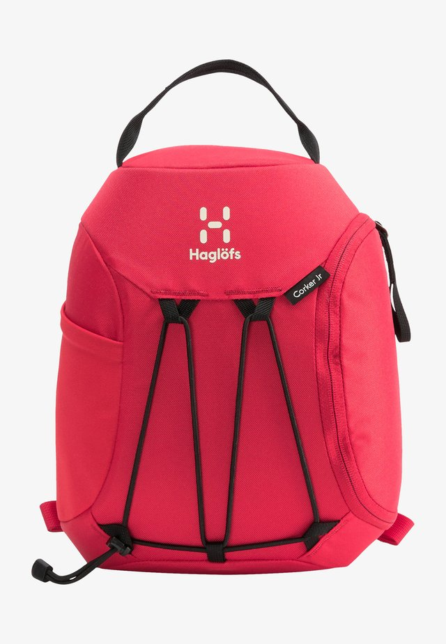 Hiking rucksack - scarlet red