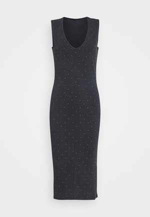LEIGH STUD DRESS - Etuikjoler - acid washed black