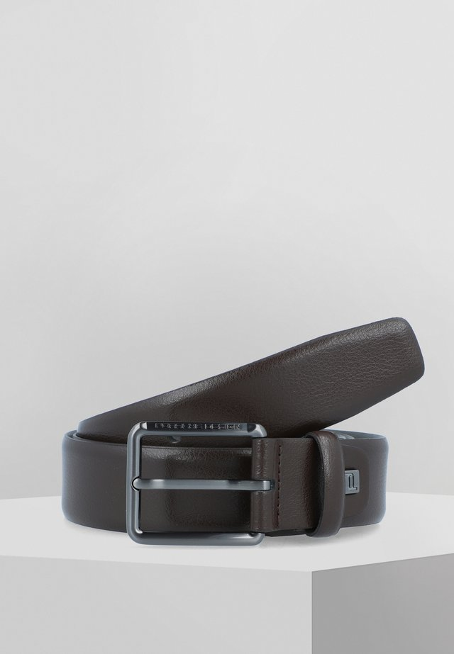 ZEUS - Belt - darkbrown