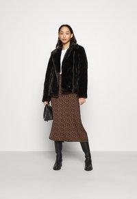 ONLY - ONLMARY BIKER - Winter jacket - black - 1