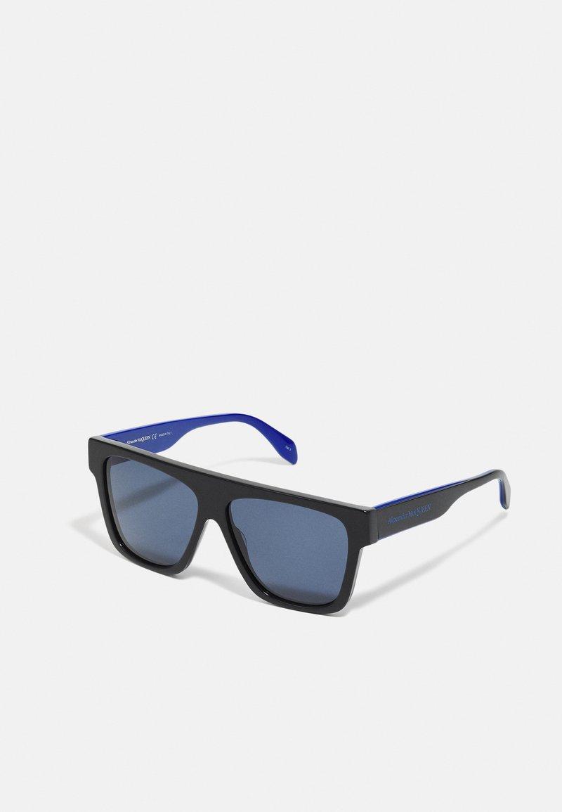 Alexander McQueen - UNISEX - Sluneční brýle - black/blue