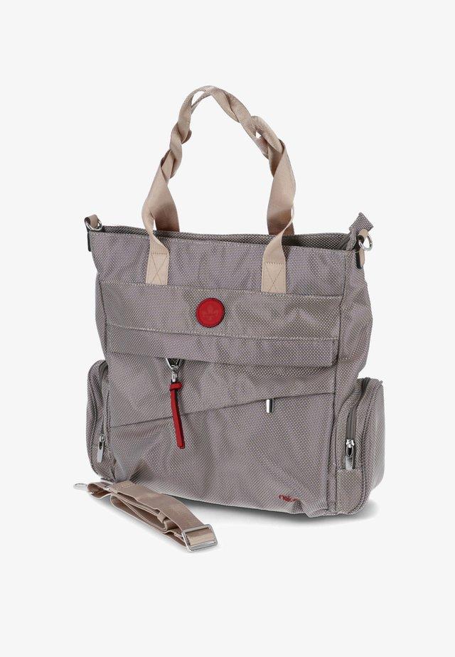 Handbag - beige-kombi