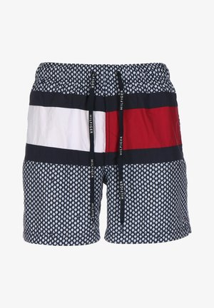 Swimming shorts - mille fleur navy blazer/ white