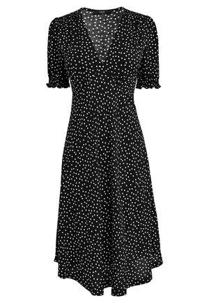 SHORT SLEEVE - Denní šaty - black