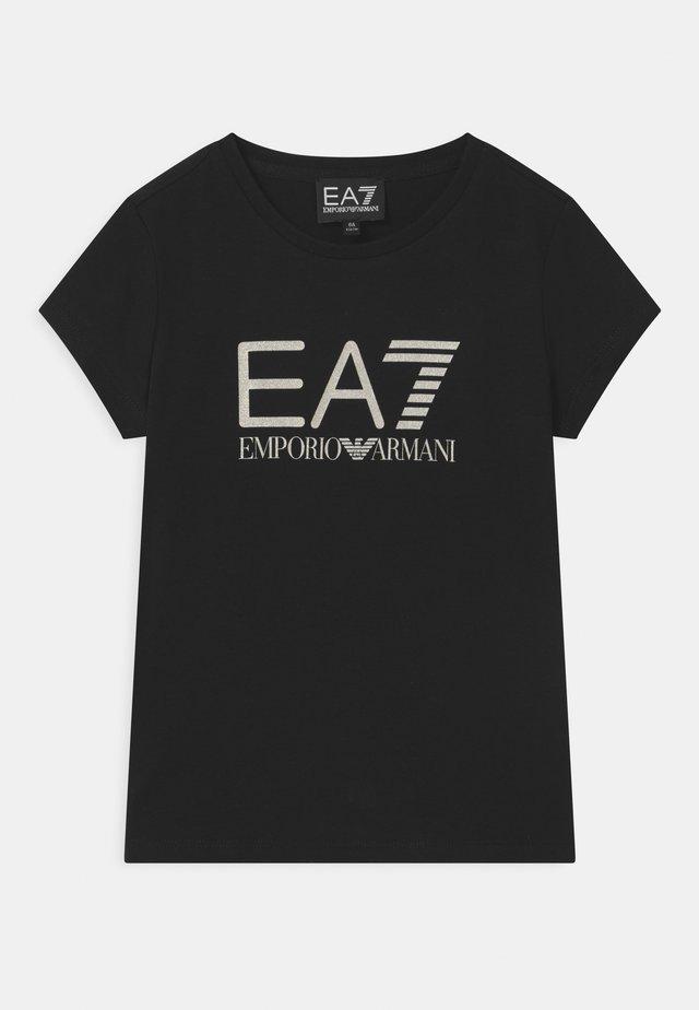 EA7  - T-shirt print - black