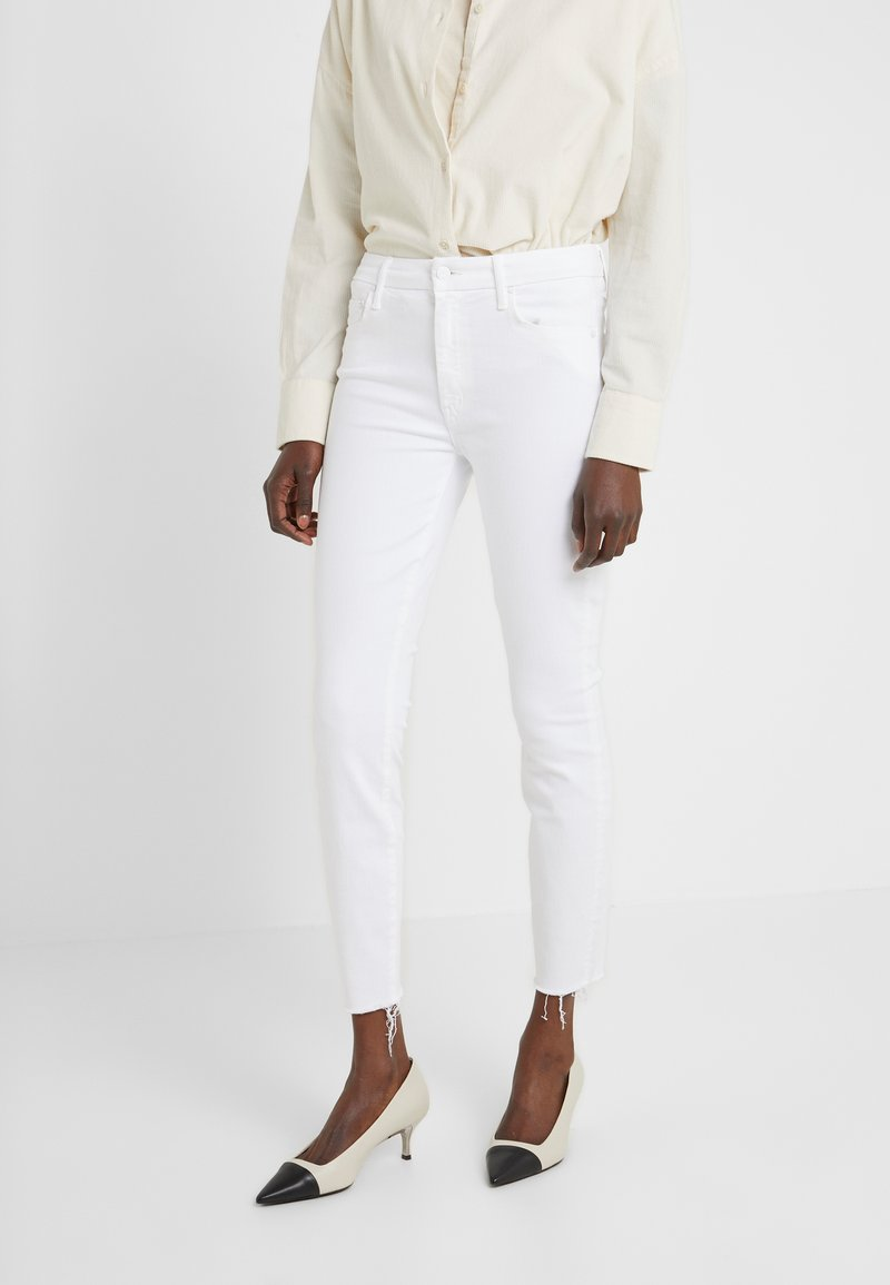 Mother - HIGH WAISTED LOOKER ANKLE FRAY - Jeansy Skinny Fit - fairest of them all