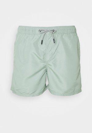JJIARUBA SWIM  SHORTS - Swimming shorts - green milieu