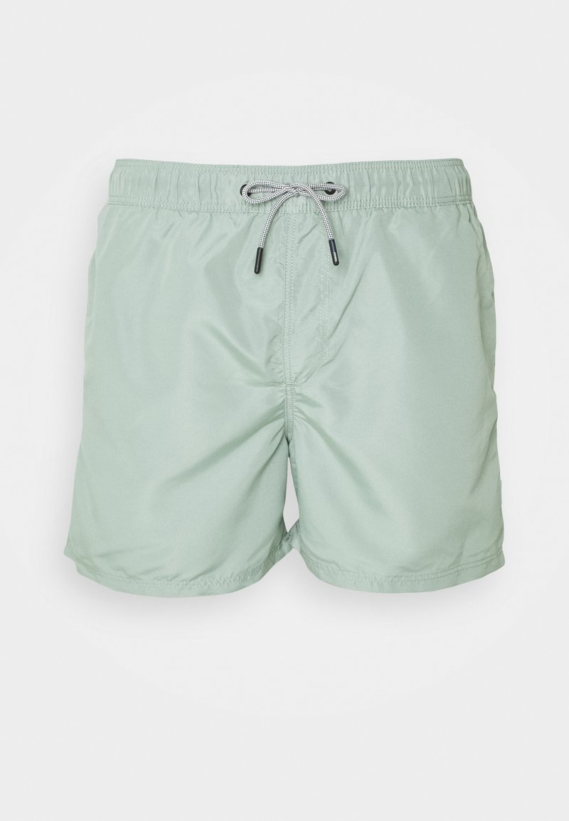 Jack & Jones - JJIARUBA SWIM  SHORTS - Swimming shorts - green milieu